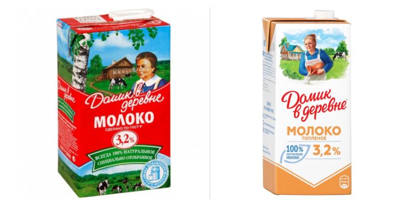 обновленная упаковка Домик в деревне