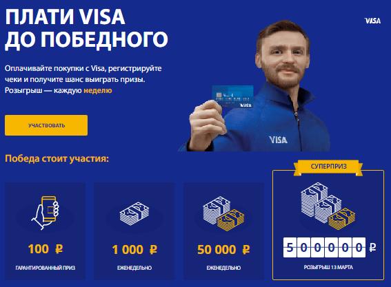 акция виза