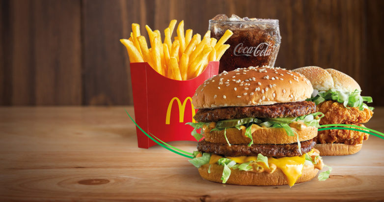 Макдоналдс доставка еды на дом