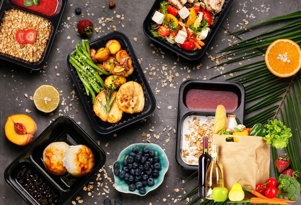 Доставка еды и продуктов на дом