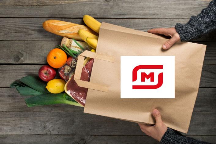 Магнит доставка продуктов на дом