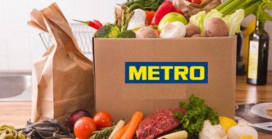 Метро доставка продуктов на дом