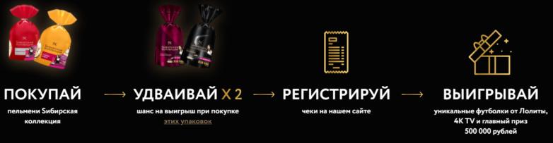 акция сибирская коллекция пельмени
