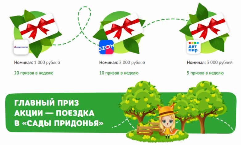Акция Сады Придонья