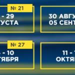Расписание матчей