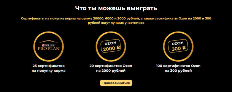 Промо акция Purina 2021 «Pro Plan»!