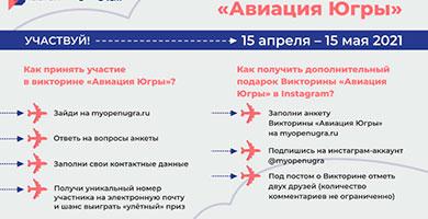 Онлайн-викторина «Авиация Югры»!